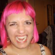 Rosa hår