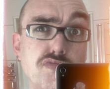 Jag har haft mustasch i tjugo dagar nu